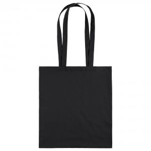 Холщовая сумка черная