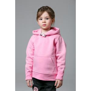 Толстовка детская розовая
