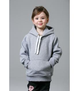 Толстовка детская серый меланж