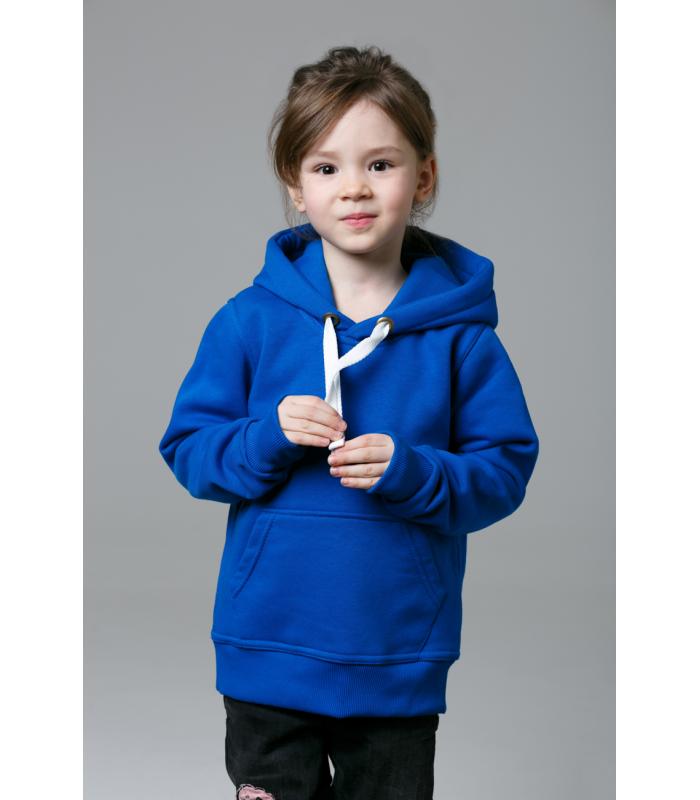 Толстовка детская синяя