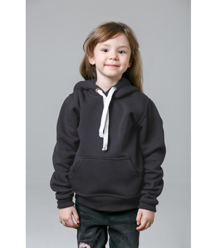 Толстовка детская темно-серая