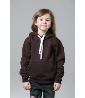 Толстовка детская коричневая