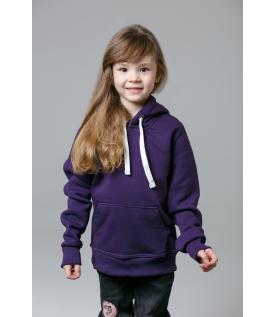 Толстовка детская фиолетовая