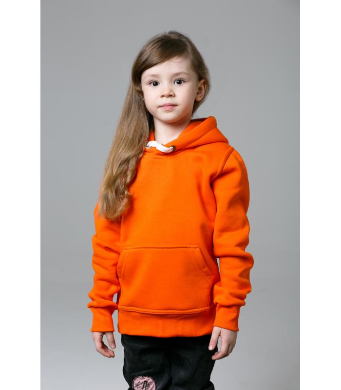 Толстовка детская оранжевая