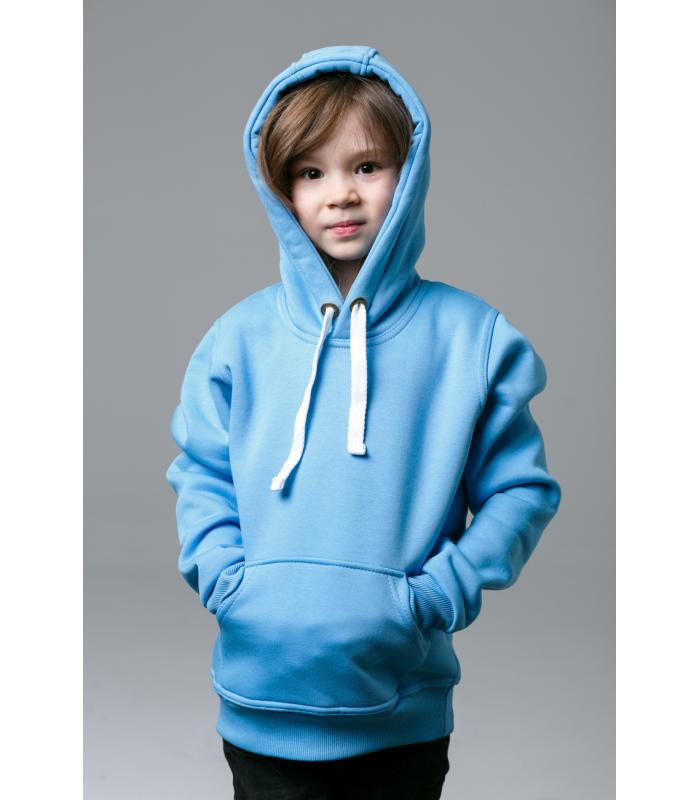 Толстовка детская голубая