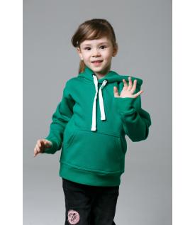 Толстовка детская зеленая