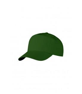Бейсболка темно-зеленая
