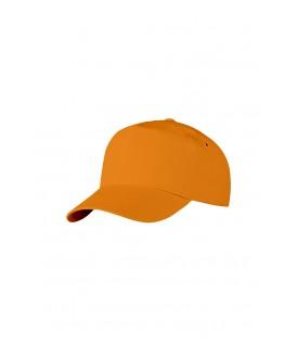 Бейсболка оранжевая
