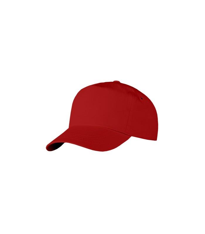 Бейсболка бордовая