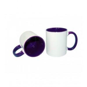 Кружка фиолетовая