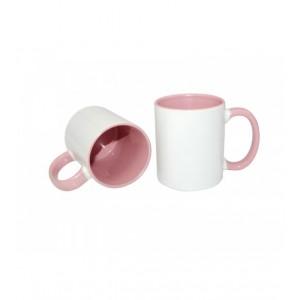 Кружка розовая
