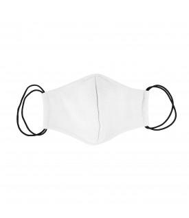 Белая многоразовая маска