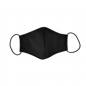 Многоразовая летняя черная маска