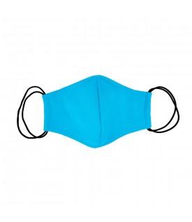 Голубая многоразовая маска