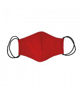 Красная многоразовая маска