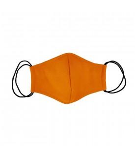 Оранжевая многоразовая маска