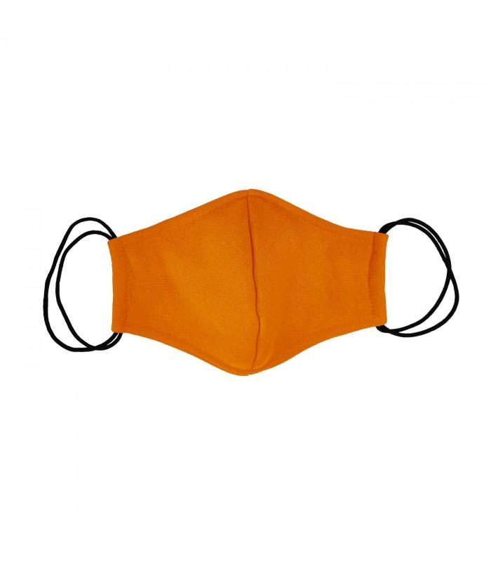 Многоразовая маска оранжевая
