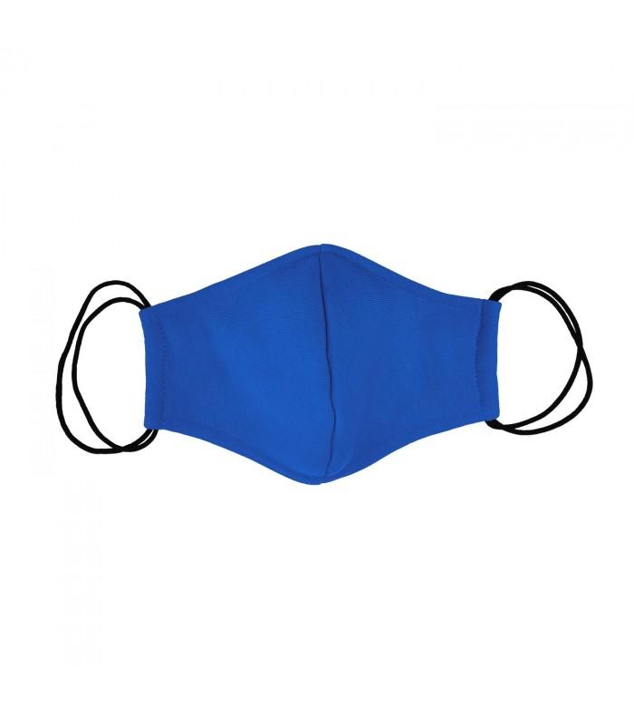 Многоразовая маска синяя