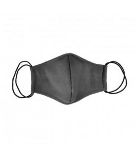 Темно-серая многоразовая маска
