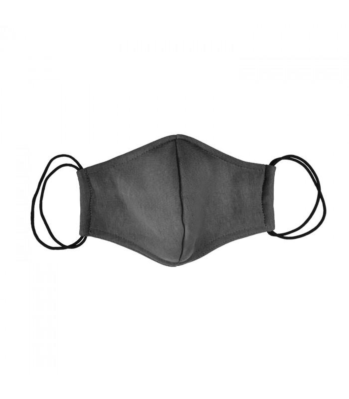 Многоразовая маска темно-серая