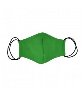 Зеленая многоразовая маска