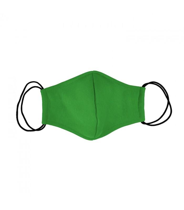 Многоразовая маска зеленая