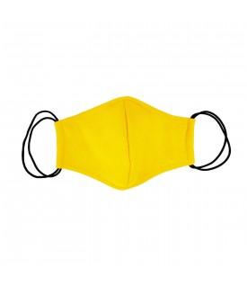 Желтая многоразовая маска
