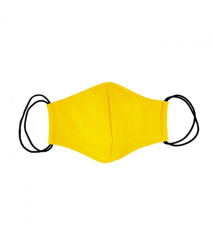 Многоразовая маска желтая