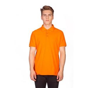 Поло мужское оранжевое
