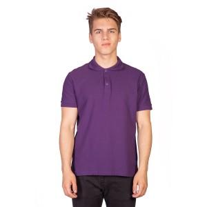 Поло мужское фиолетовое