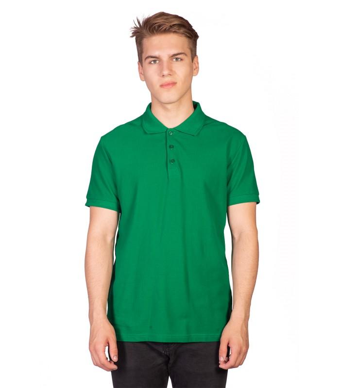 Поло мужское зеленое
