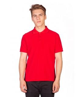 Поло мужское красное