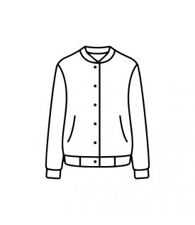 3Н Бомбер Унисекс Черный (L (48-50))