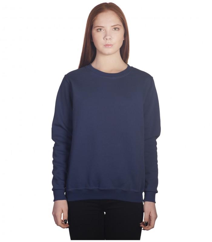 Свитшот женский темно-синий
