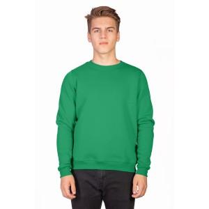 Свитшот мужской зеленый