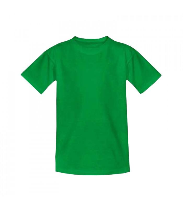 Футболка детская зеленая