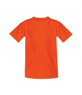 Футболка детская оранжевая