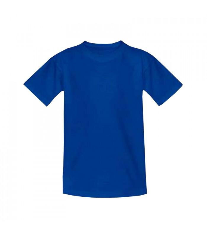 Футболка детская синяя