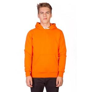 Толстовка мужская кенгуру оранжевая