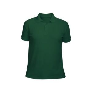 Поло мужское темно-зеленое