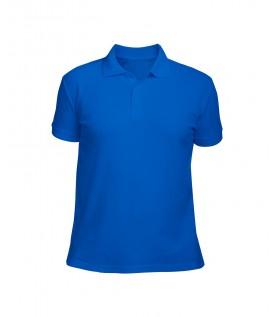 Поло мужское синее
