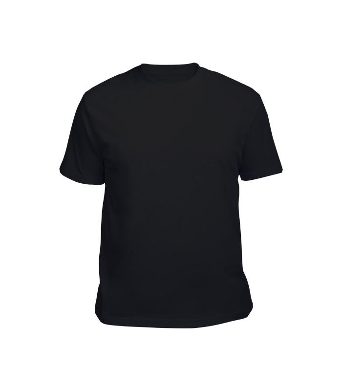 Футболка мужская черная (стрейч)