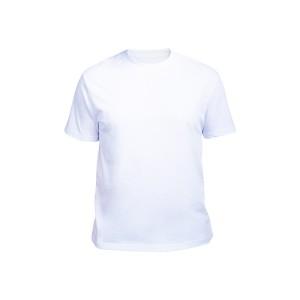 Футболка мужская белая (стрейч)